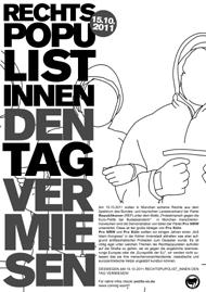 Rechtspopulist_innen den Tag vermiesen!